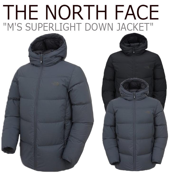 ノースフェイス ダウン THE NORTH FACE メンズ M'S SUPERLIGHT DOWN JACKET スーパーライト ダウンジャケット BLACK ブラック CHARCOAL チャコール NJ1DK54A/B ウェア 【中古】未使用品