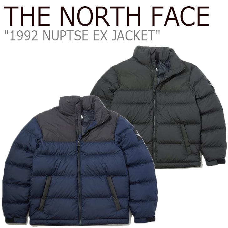 ノースフェイス ヌプシダウン THE NORTH FACE メンズ 1992 NUPTSE EX JACKET 1992 ヌプシ ジャケット INK インク CHARCOAL チャコール NJ1DK62A/B ウェア 【中古】未使用品