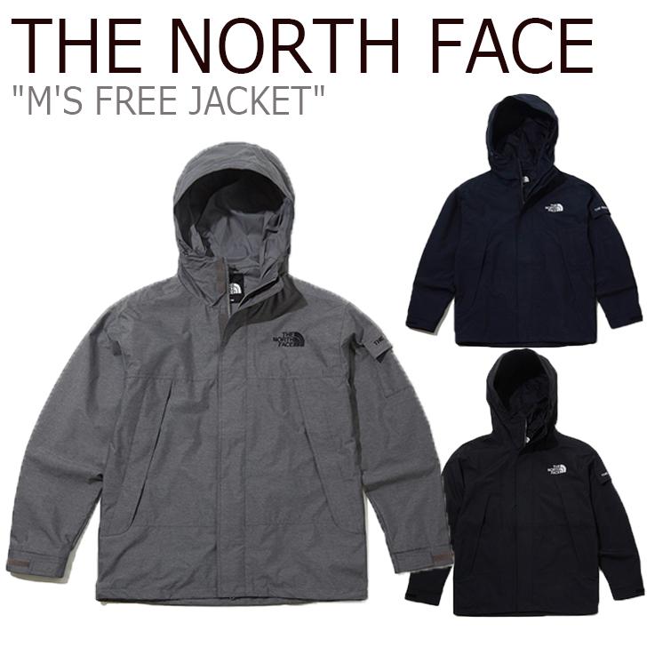 ノースフェイス ナイロンジャケット THE NORTH FACE メンズ M'S FREE JACKET フリージャケット BLACK ブラック HEATHER GRAY グレー INK インク NJ3BK51A/B/C ウェア 【中古】未使用品