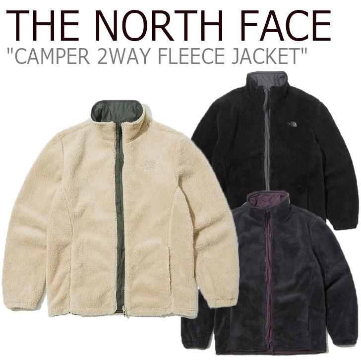 フリース ノースフェイス THE NORTH FACE メンズ CAMPER 2WAY FLEECE JACKET キャンパー 2ウェイ フリースジャケット 全3色 NJ4FK56A/B/C ウェア 【中古】未使用品