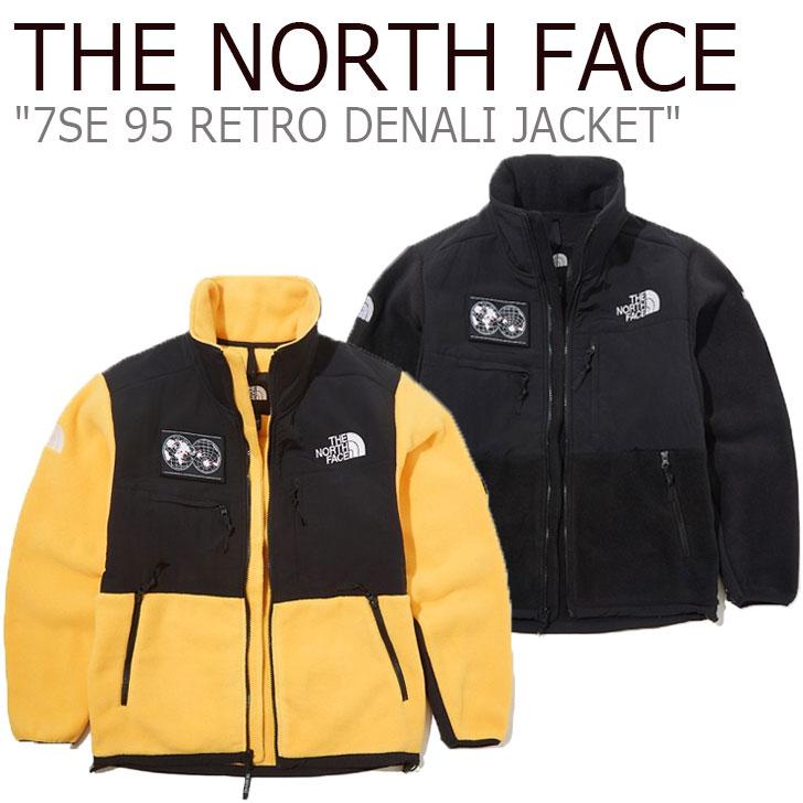 フリース ノースフェイス THE NORTH FACE メンズ 7SE 95 RETRO DENALI JACKET 7SE 95レトロ デナリジャケット BLACK ブラック GOLD YELLOW イエロー NJ4FK70A/B ウェア 【中古】未使用品