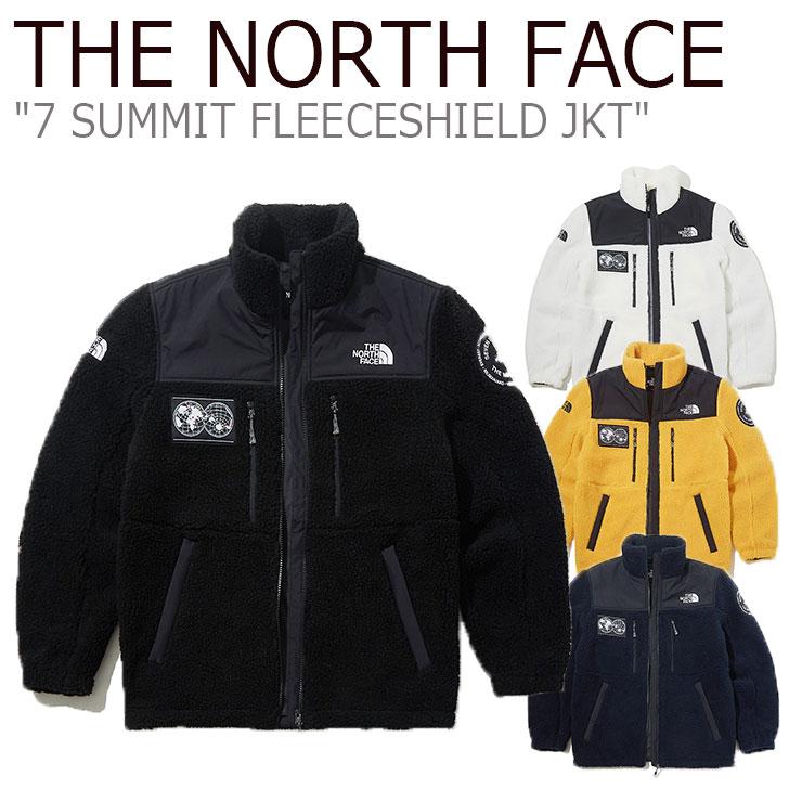 フリース ノースフェイス THE NORTH FACE メンズ 7 SUMMIT FLEECESHIELD JKT セブンサミット フリースシールド ジャケット 全4色 NJ4FK71A/B/C/D ウェア 【中古】未使用品