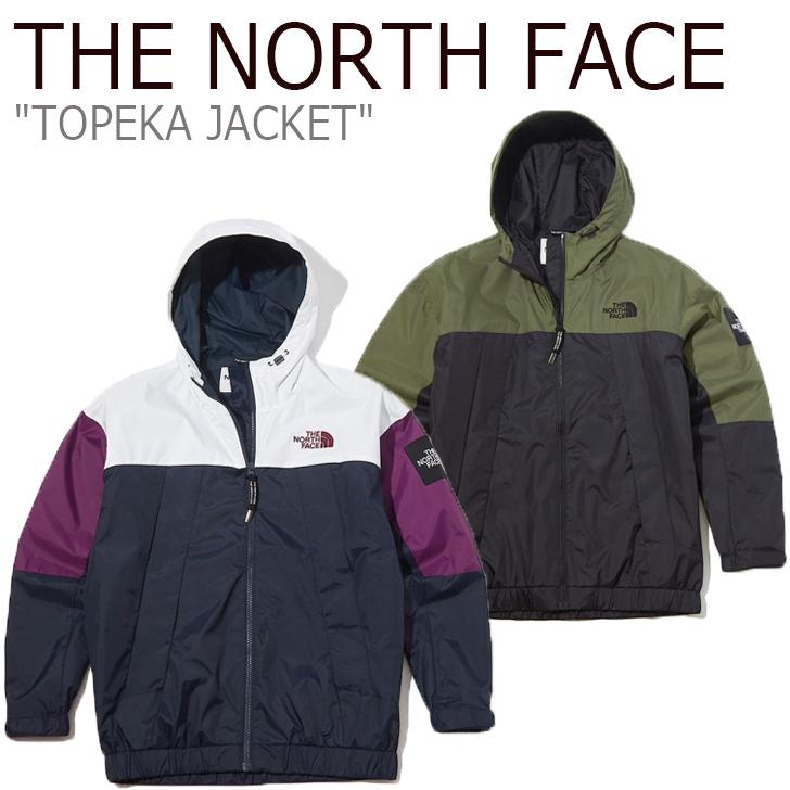 ノースフェイス ジャケット THE NORTH FACE メンズ レディース TOPEKA JACKET トピーカ ジャケット NAVY ネイビー KHAKI カーキ NJ4HK53J/K ウェア 【中古】未使用品