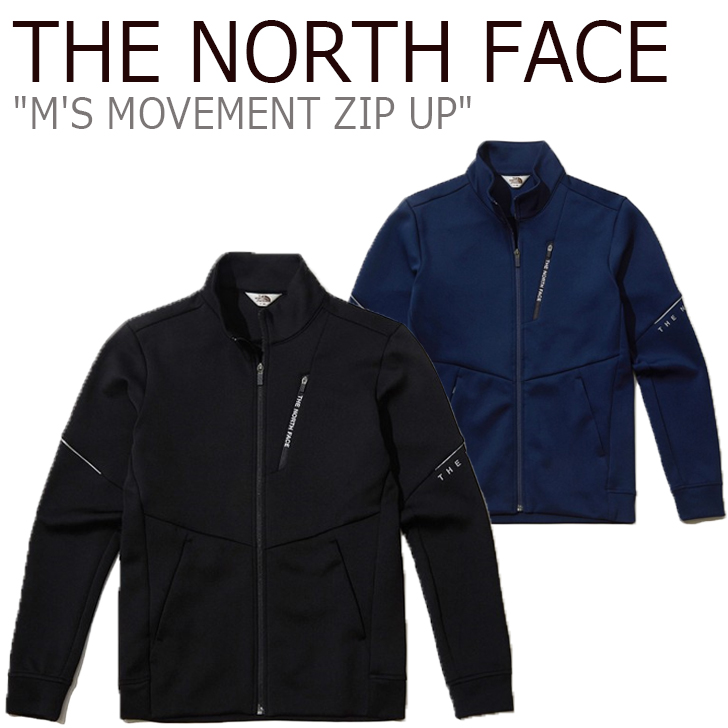 ノースフェイス ジャケット THE NORTH FACE メンズ レディース M'S MOVEMENT ZIP UP ムーブメント ジップアップ BLACK ブラック NAVY ネイビー NJ5JK50J/K ウェア 【中古】未使用品
