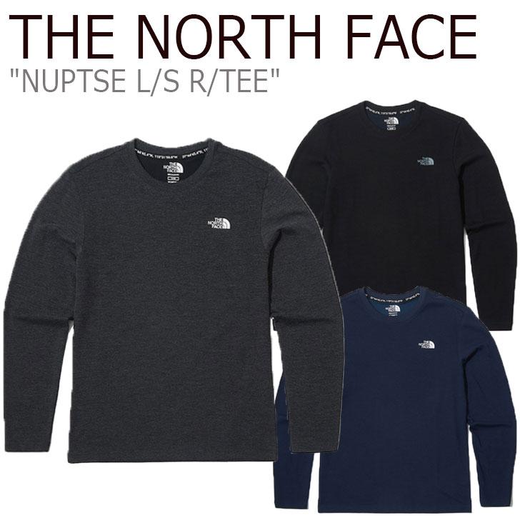ノースフェイス ロンT THE NORTH FACE メンズ NUPTSE L/S R/TEE ヌプシ ロングスリーブ ラウンドTEE 全3色 NT7TK50J/K/L ウェア 【中古】未使用品