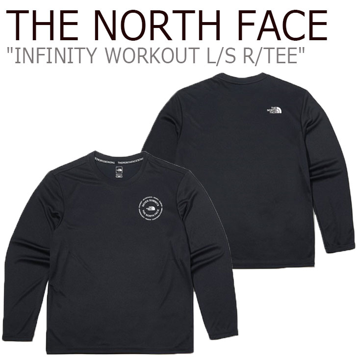 ノースフェイス ロンT THE NORTH FACE メンズ INFINITY WORKOUT L/S R/TEE インフィニティ ワークアウト ロングスリーブ ラウンドTEE BLACK ブラック NT7TK51A ウェア 【中古】未使用品