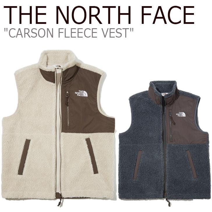 ノースフェイス フリース THE NORTH FACE メンズ レディース CARSON FLEECE VEST カーソン フリースベスト 全2色 NV4FK50J/L ウェア 【中古】未使用品
