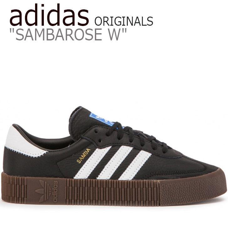 アディダス オリジナルス スニーカー adidas メンズ レディース ORIGINALS SAMBAROSE W オリジナルス サンバローズ BLACK ブラック WHITE ホワイト B28156 シューズ 【中古】未使用品