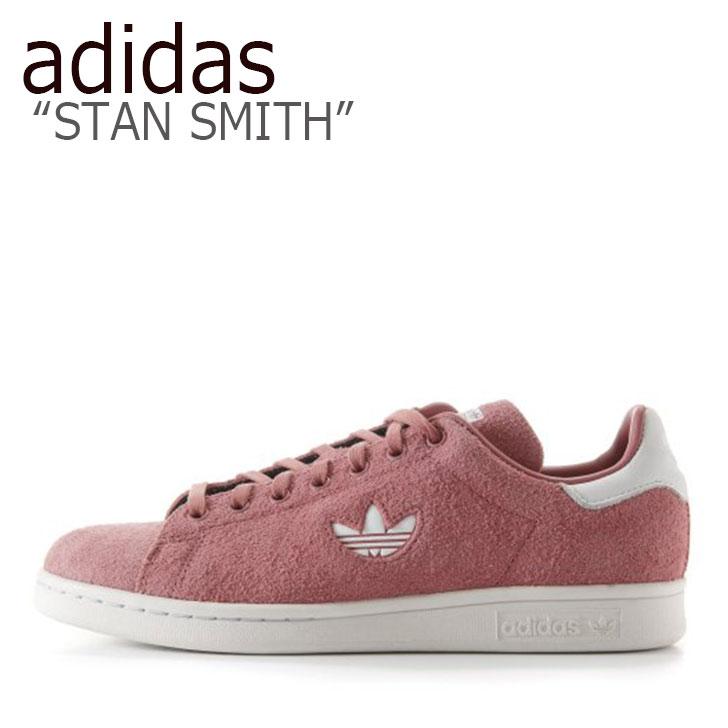アディダス スタンスミス スニーカー adidas メンズ STAN SMITH スタン スミス PINK ピンク B37895 シューズ 【中古】未使用品
