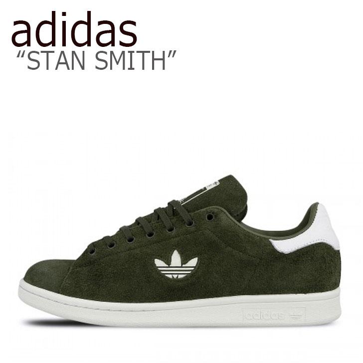 カーキ adidas KHAKI スタンスミス SMITH シューズ 【中古】未使用品 B37896 メンズ スタン スニーカー STAN スミス アディダス