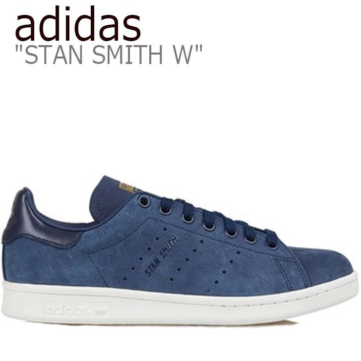 アディダス スタンスミス スニーカー adidas レディース STAN SMITH W スタン スミス NAVY ネイビー B41596 シューズ 【中古】未使用品