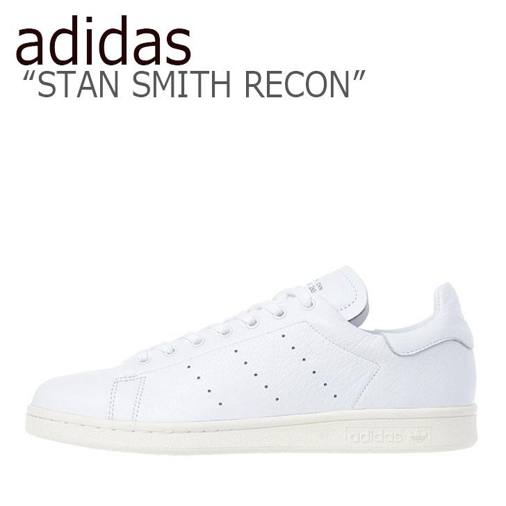 アディダス スタンスミス スニーカー adidas レディース STAN SMITH RECON スタン スミス リコン WHITE ホワイト EE5790 シューズ 【中古】未使用品
