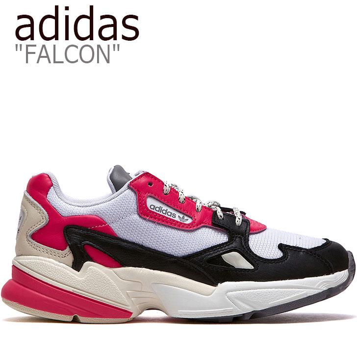 アディダス ファルコン スニーカー adidas レディース FALCON ファルコン ダッドシューズ PINK ピンク WHITE ホワイト BLACK ブラック EG9926 FLADAA3U15 シューズ 【中古】未使用品