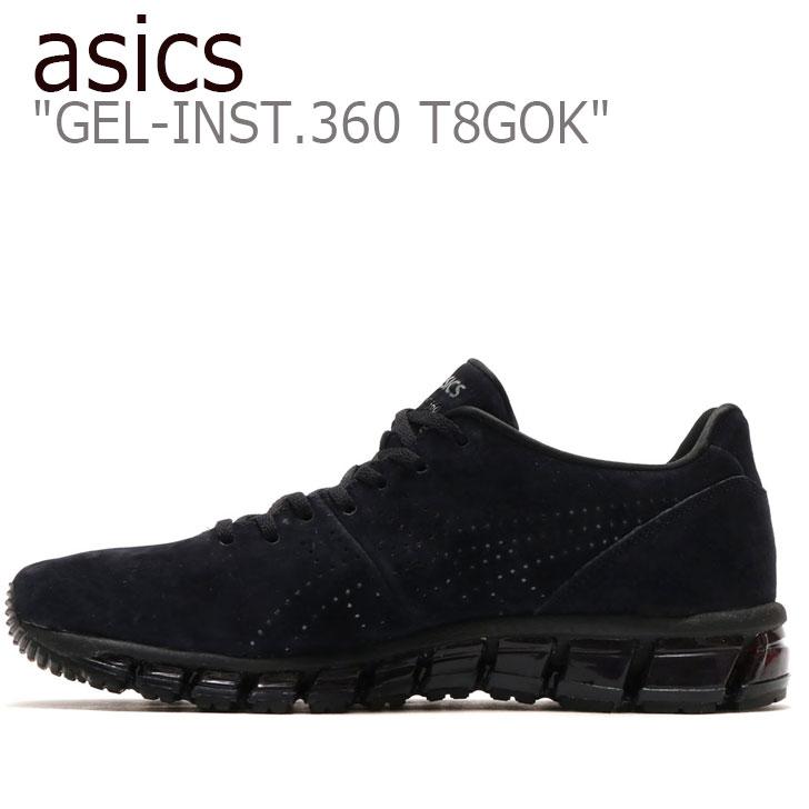 アシックス スニーカー asics メンズ GEL-INST 360 T8GOK ゲルインスト360 T8GOK BLACK ブラック 111810926 シューズ