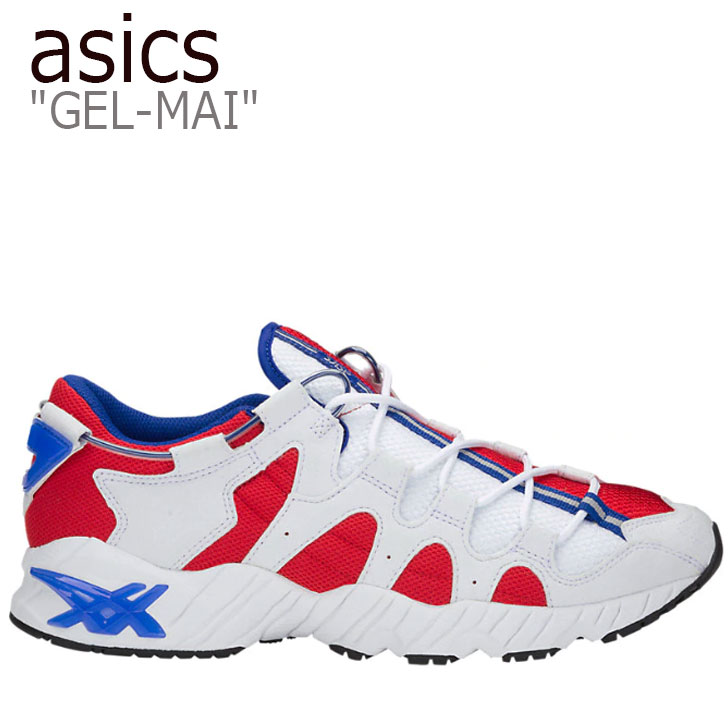 アシックス スニーカー asics メンズ レディース GEL-MAI ゲルマイ RED レッド WHITE ホワイト 1191A088-601 シューズ