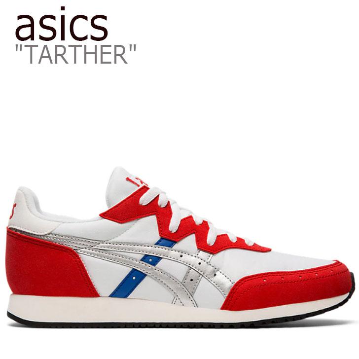 アシックス スニーカー asics メンズ TARTHER OG ターサー OG WHITE ホワイト RED レッド 1191A211-100 シューズ