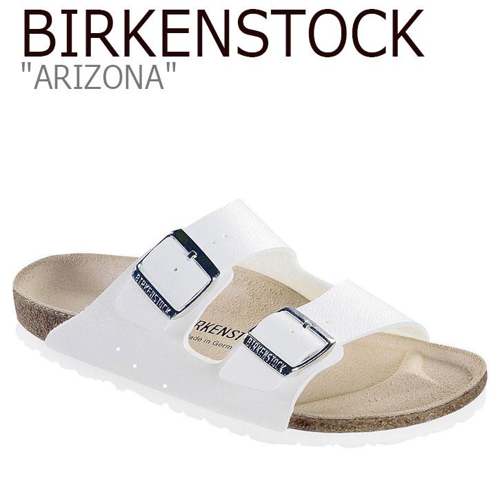 ビルケンシュトック サンダル BIRKENSTOCK レディース ARIZONA アリゾナ WHITE ホワイト 051733 シューズ 【中古】未使用品