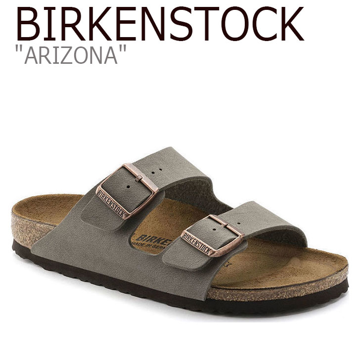 ビルケンシュトック サンダル BIRKENSTOCK メンズ ARIZONA アリゾナ STONE ストーン 151211 FLBKAS2U12 シューズ 【中古】未使用品