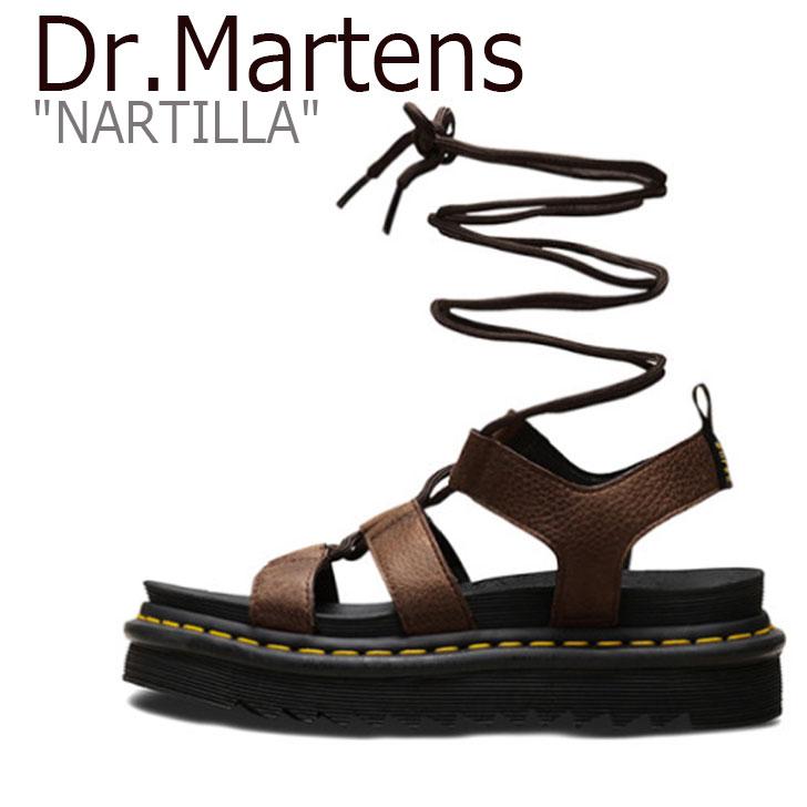 ドクターマーチン サンダル Dr.Martens メンズ レディース NARTILLA ナルティラ BROWN ブラウン 24816201 シューズ 【中古】未使用品