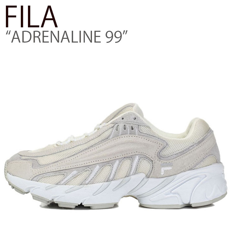 フィラ スニーカー FILA メンズ レディース ADRENALINE 99 アドレナリン99 OFF WHITE オフホワイト FS1HTB3042X シューズ