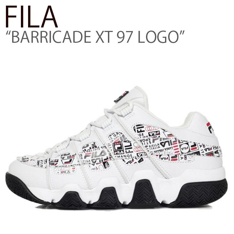 フィラ スニーカー FILA メンズ レディース BARRICADE XT 97 LOGO バリケードXT 97 ロゴ WHITE ホワイト FS1HTB3515X シューズ