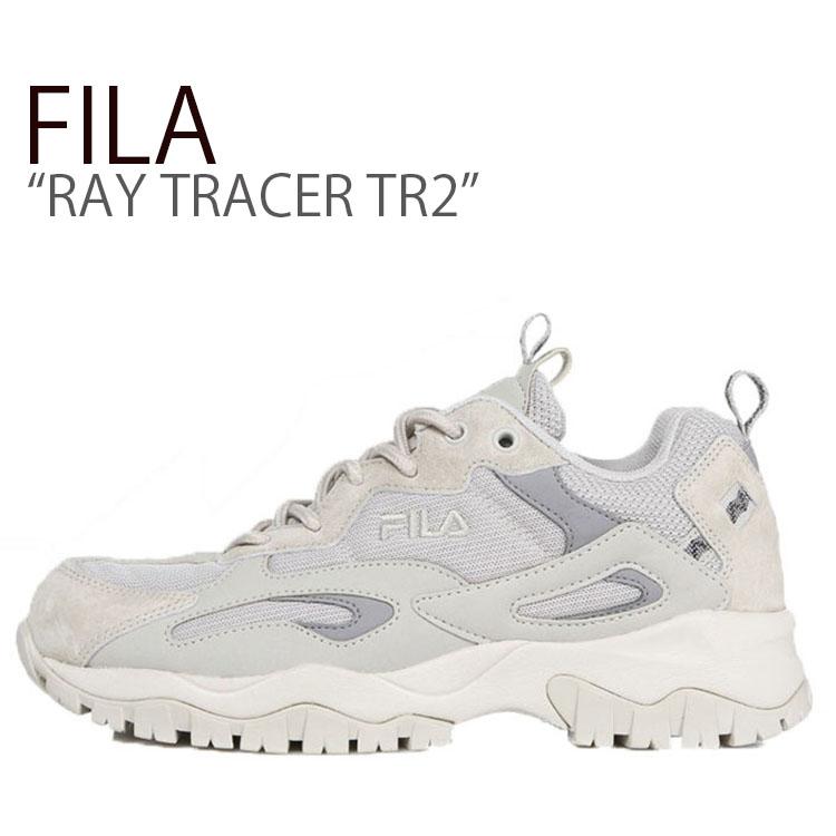 フィラ レイ スニーカー FILA メンズ レディース RAY TRACER TR2 レイ トレイサー TR2 BEIGE ベージュ FS1RIB3082X シューズ