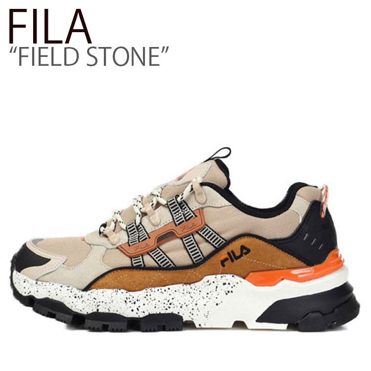 FLFLAS1U33 メンズ FILA クリーム シューズ CREAM フィールドストーン FS1RIB3112X STONE FIELD レディース フィラ スニーカー