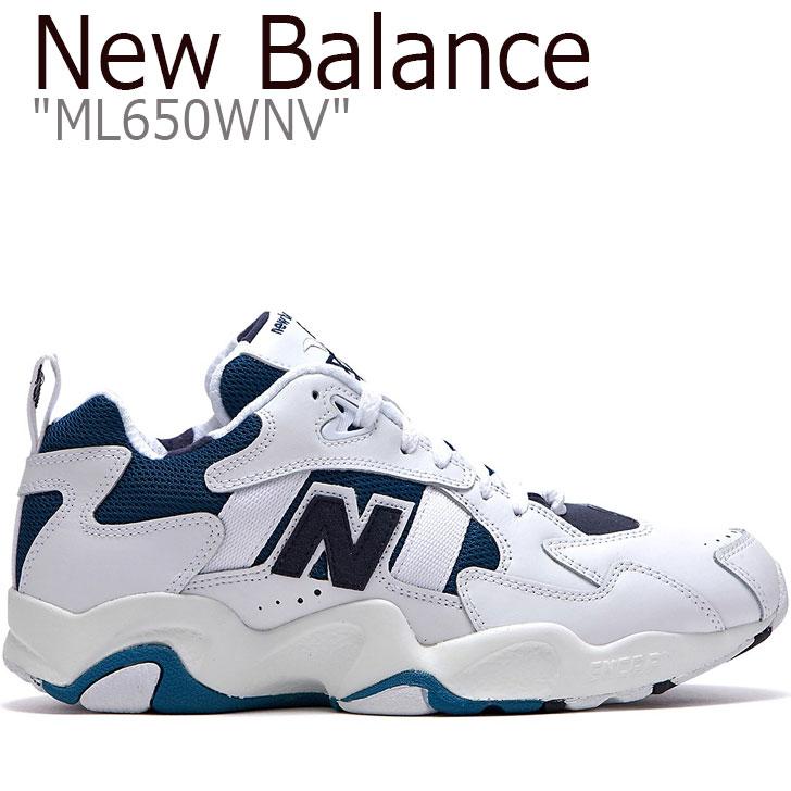 650 ニューバランス650 シューズ ニューバランス スニーカー ブルー BLUE レディース NEW balance 【中古】未使用品 650 ML650WNV BALANCE FLNB9S2U60 ホワイト WHITE メンズ new