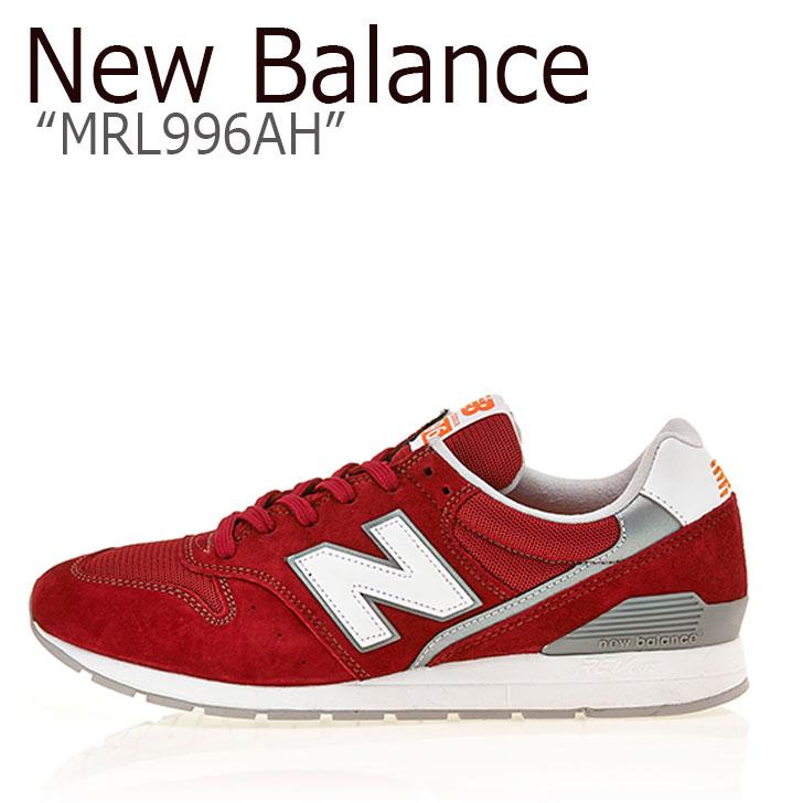 ニューバランス 996 スニーカー New Balance メンズ レディース MRL 996 AH New Balance996 RED レッド MRL996AH シューズ 【中古】未使用品