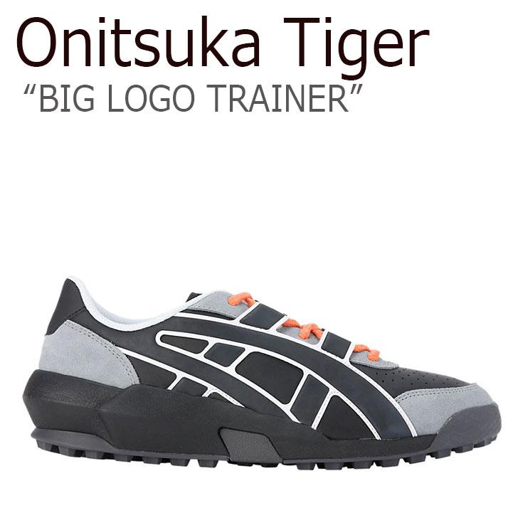 オニツカタイガー スニーカー Onitsuka Tiger メンズ レディース BIG LOGO TRAINER ビッグロゴ トレーナー BLACK BLACK ブラック 1183A419‐001 シューズ