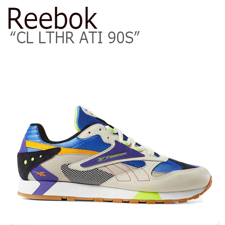 リーボック スニーカー REEBOK メンズ レディース CL LTHR ATI 90S CL レザー ATI 90S BEIGE SAND ベージュ サンド DV5374 シューズ
