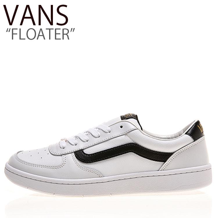 バンズ スニーカー VANS メンズ レディース FLOATER フローター WHITE BLACK ホワイト ブラック V4410 シューズ