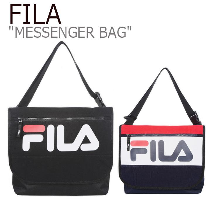 フィラ メッセンジャーバッグ FILA メンズ レディース COLOR BLOCKING MESSENGER BAG カラー ブロッキング メッセンジャーバッグ BLACK ブラック DARK RED ダークレッド FS3BCB5312X バッグ
