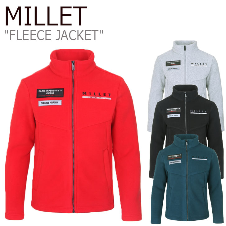 ミレー フリース MILLET メンズ FLEECE JACKET ノイ ジャケット グレー グレー 黒 ブラック 緑 グリーン 赤 レッド MXOWJ103 ウェア