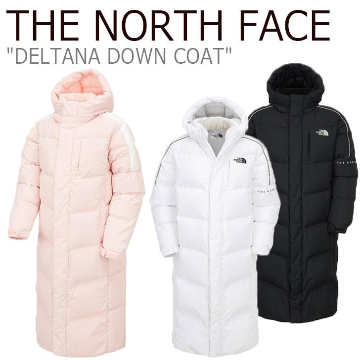 ノースフェイス ダウン THE NORTH FACE メンズ レディース DELTANA DOWN COAT デルタナ ダウンコート ロングダウン グース 全3色 NC1DK51J/K/L ウェア 【中古】未使用品