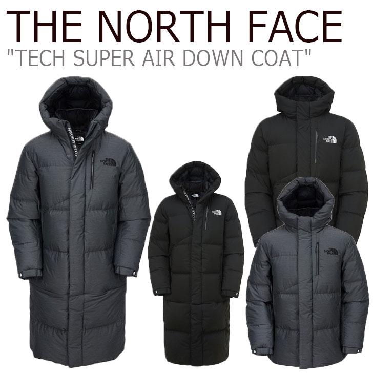 ノースフェイス ダウン THE NORTH FACE メンズ レディース TECH SUPER AIR DOWN COAT テック スーパー エア ダウンコート GREY グレー BLACK ブラック NC1DK53A/B ウェア 【中古】未使用品
