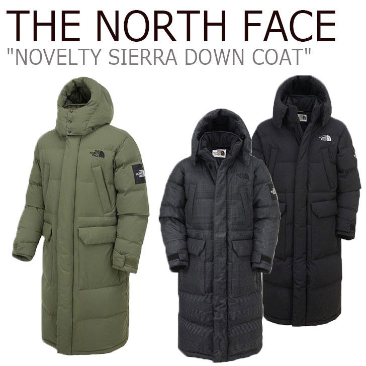 ノースフェイス ダウン THE NORTH FACE メンズ レディース NOVELTY SIERRA DOWN COAT ノベルティー シエラ ダウンコート 全3色 NC1DK54J/K/L ウェア 【中古】未使用品