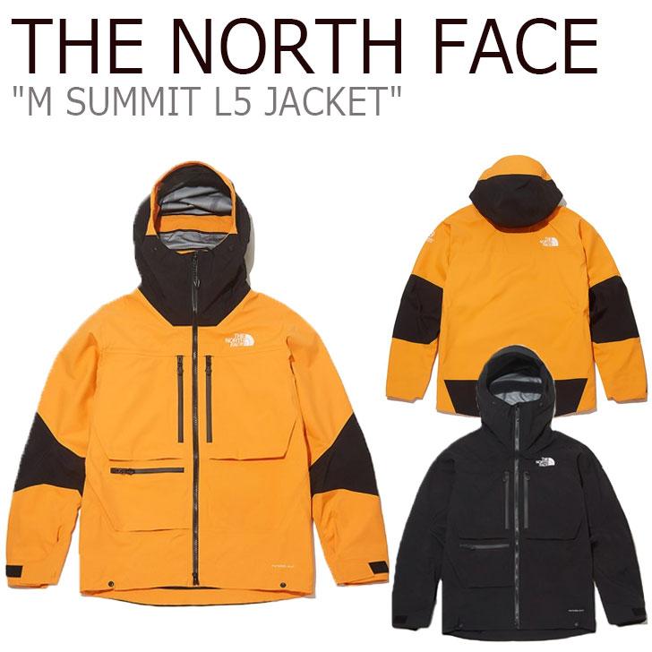 ノースフェイス ジャケット THE NORTH FACE メンズ M SUMMIT L5 JACKET サミット L5ジャケット MANDARIN ORANGE マンダリン オレンジ BLACK ブラック NJ2HK52A/C ウェア 【中古】未使用品