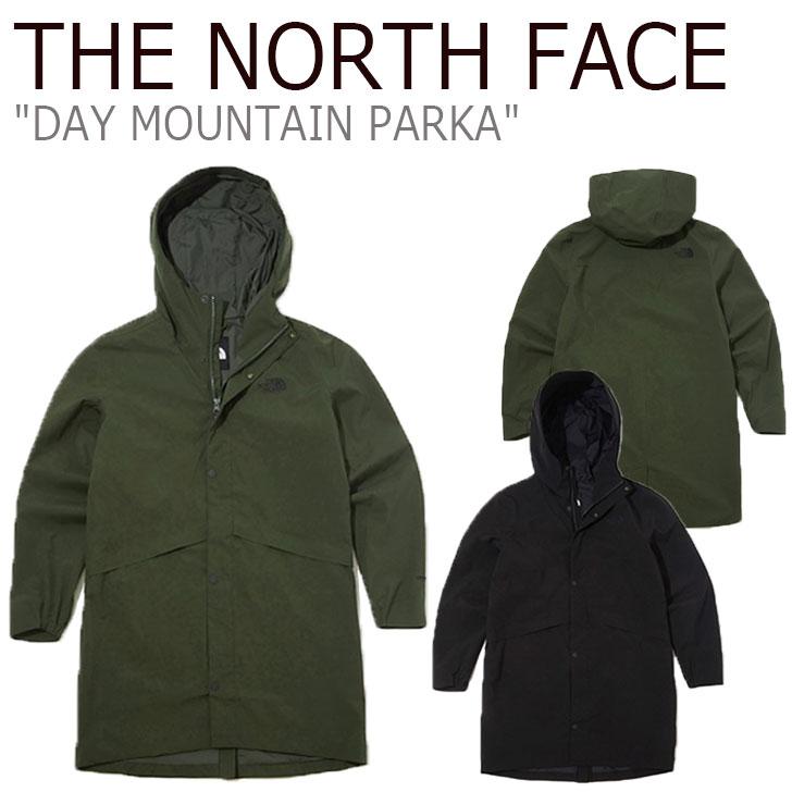 ノースフェイス ジャケット THE NORTH FACE メンズ DAY MOUNTAIN PARKA デー マウンテン パーカ BLACK ブラック KHAKI カーキ NJ2HK55A/B ウェア 【中古】未使用品