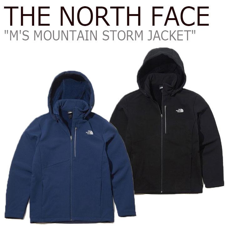 ノースフェイス ジャケット THE NORTH FACE メンズ M'S MOUNTAIN STORM JACKET マウンテン ストームジャケット BLACK ブラック LIGHT NAVY ライト ネイビー NJ4FK53A/B ウェア 【中古】未使用品