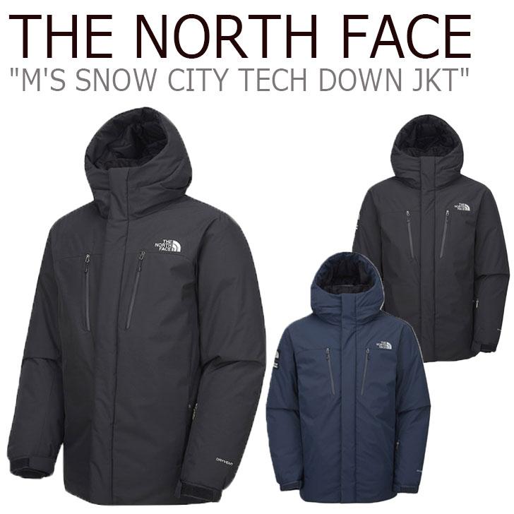ノースフェイス ダウン THE NORTH FACE メンズ M'S SNOW CITY TECH DOWN JACKET スノー シティ テック ダウンジャケット BLACK ブラック CHARCOAL チャコール NN1DK53A/B ウェア 【中古】未使用品