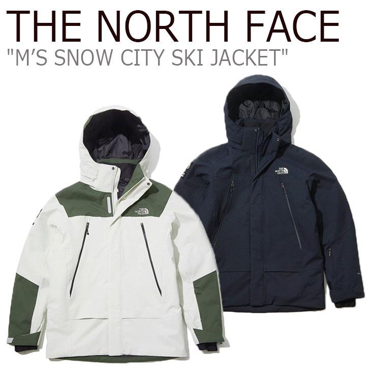 ノースフェイス ジャケット THE NORTH FACE メンズ M'S SNOW CITY SKI JACKET スノー シティ スキージャケット CHARCOAL チャコール GRAYISH BEIGE グレーイッシュ ベージュ NN2SK50A/B ウェア 【中古】未使用品