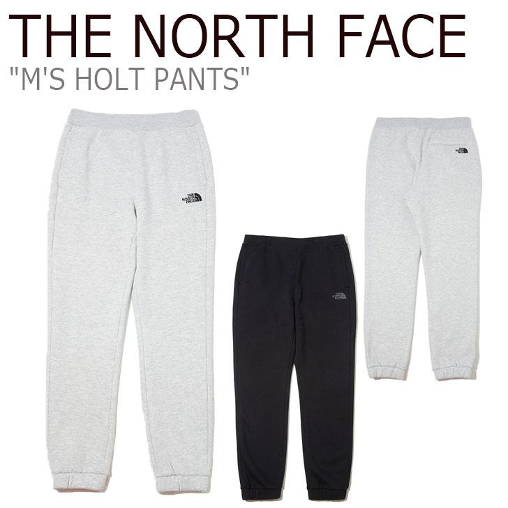 ノースフェイス スウェットパンツ THE NORTH FACE メンズ M'S HOLT PANTS ホルト パンツ MELANGE GREY グレー BLACK ブラック NP6KK55J/K ウェア 【中古】未使用品