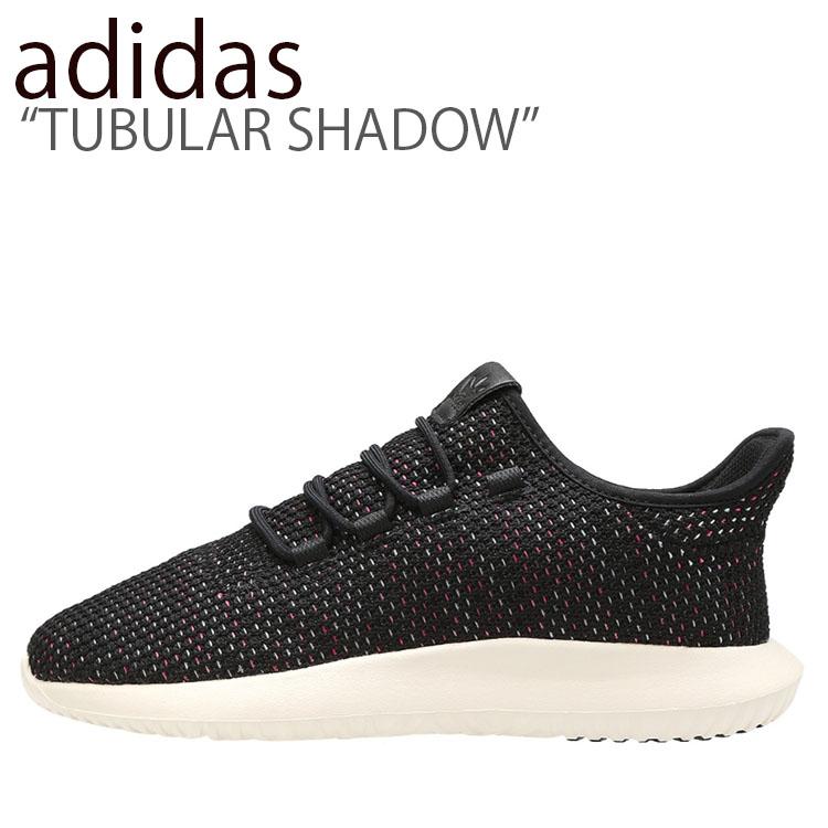 アディダス スニーカー adidas メンズ レディース TUBULAR SHADOW チューブラー シャドウ BLACK WHITE ブラック ホワイト AQ0886 シューズ 【中古】未使用品