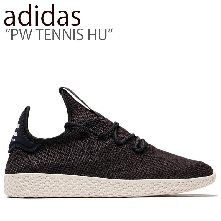アディダス スニーカー adidas メンズ レディース PW TENNIS HU ファレル ウィリアムス テニス ヒューマン BLACK ブラック AQ1056 シューズ 【中古】未使用品