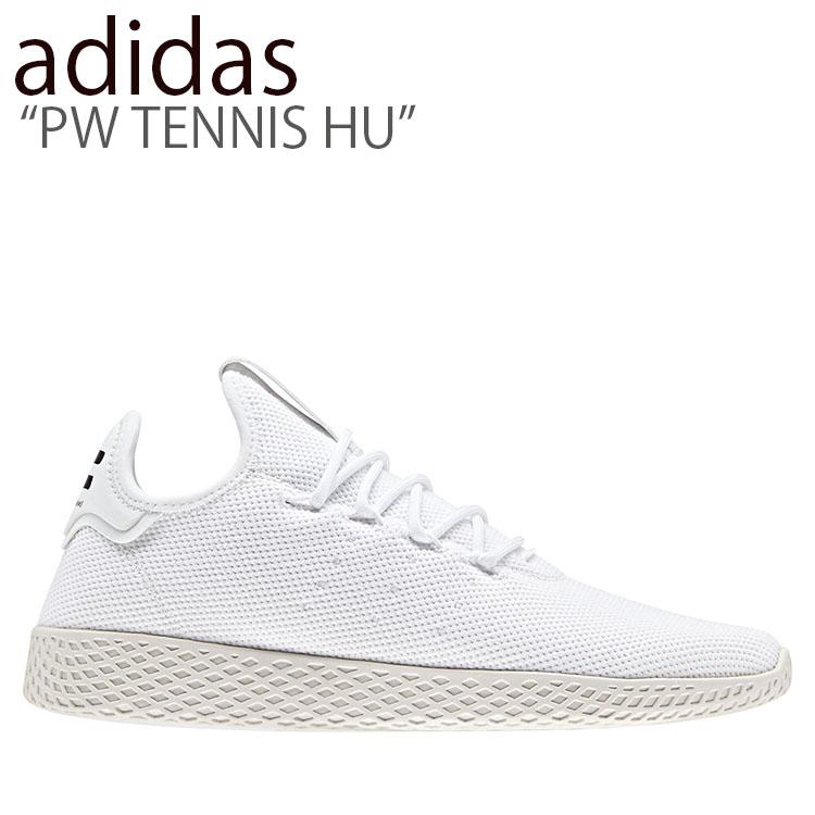アディダス スニーカー adidas レディース PW TENNIS HU ファレル ウィリアムス テニス ヒューマン WHITE ホワイト B41792 シューズ 【中古】未使用品