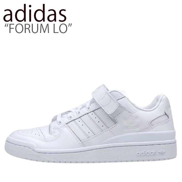 アディダス スニーカー adidas メンズ レディース FORUM LO フォーラム ロー WHITE ホワイト BA7276 シューズ 【中古】未使用品