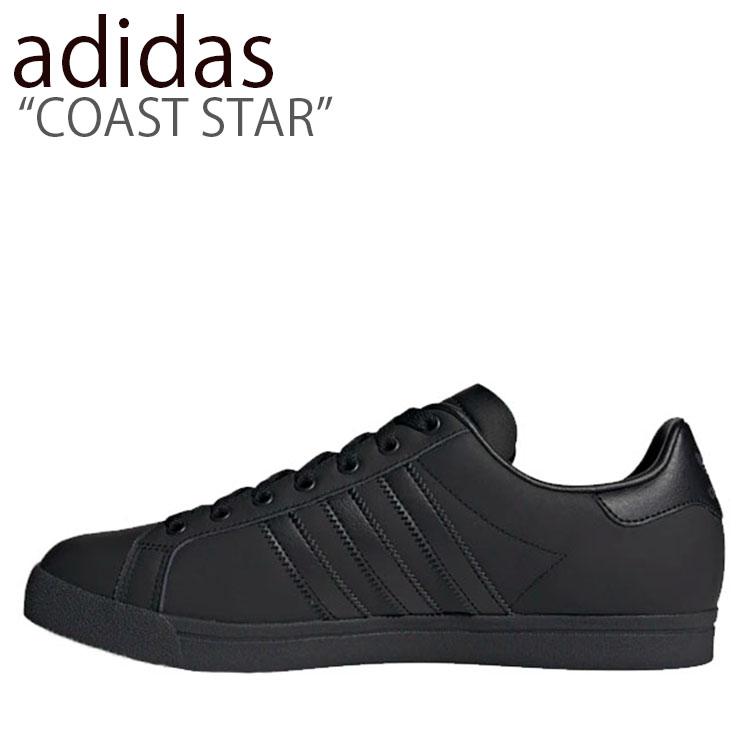 アディダス スニーカー adidas メンズ レディース COAST STAR コースト スター BLACK ブラック EE8902 シューズ 【中古】未使用品