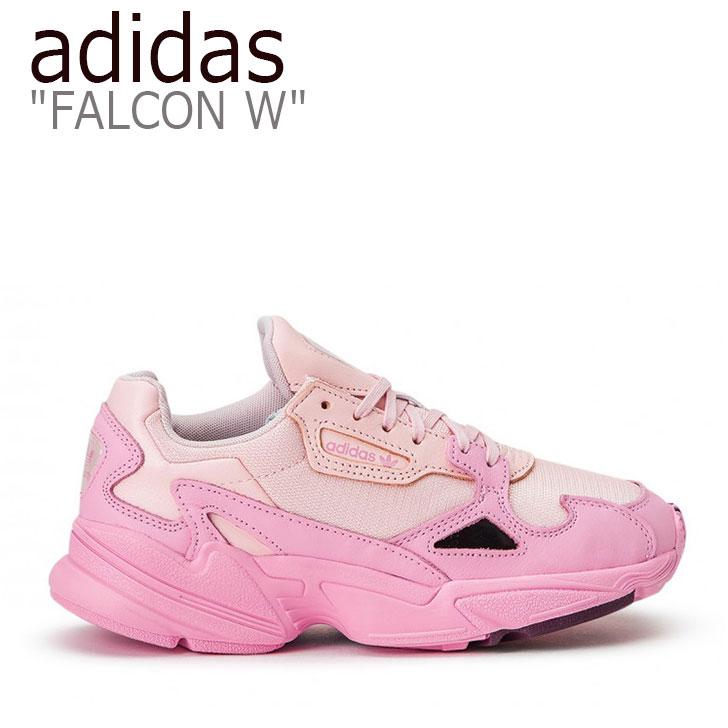アディダス ファルコン スニーカー adidas レディース FALCON W ファルコン W ダッドシューズ PINK ピンク EF1994 シューズ 【中古】未使用品