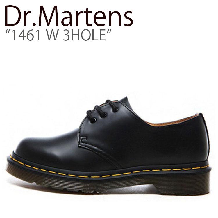 ドクターマーチン スニーカー Dr.Martens メンズ レディース 1461 W 3HOLE 1461 W 3ホール BLACK NOIR ブラックノワール 11837002 シューズ 【中古】未使用品
